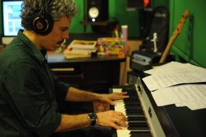Bruno Migliari - no estúdio