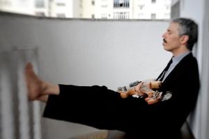 Bruno Migliari - meditando